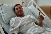 Acha que Casillas vai voltar a jogar?